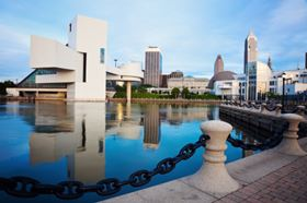 Cleveland State University is based in downtown Cleveland, Ohio.