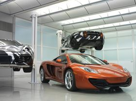 The MP4-12C, the first of McLaren Automotive's new range of sports cars.