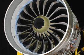 The 18 blades for the LEAP engine's composite fan are produced by RTM. (Picture courtesy of Snecma.)