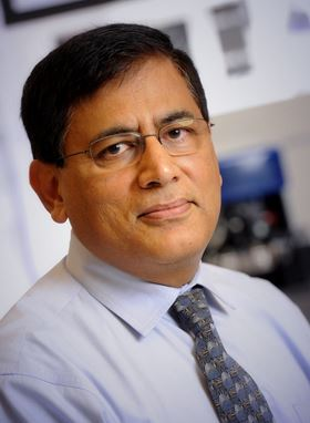 Yogesh Vohra, professor of physics at the University of Alabama at Birmingham. Photo: UAB.