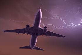 Commercial aircraft are struck by lightning, on average, once per year, but its impact depends on exactly where on the body of the aircraft it strikes.