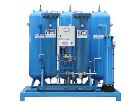 The latest high-purity, low-energy nitrogen and oxygen generators from Hi-line Industries offer low running cost.