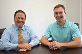 From left to right: J Louis Schlegel IV, global vice president of sales, and Rick Clark, vice president of operations. (Photo courtesy Business Wire)