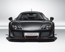 The Noble M600 supercar features British automaker Nobel's first CFRP body.