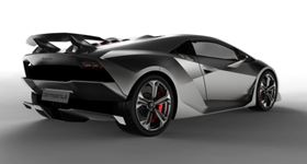 The Sesto Elemento acccelerates from 0 to 100 km/h in just 2.5 seconds.