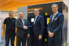 Renishaw is collaborating with Sandvik Additive Manufacturing to qualify new additive manufacturing (AM) materials.