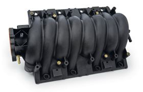 This carbon fibre reinforced polyamide intake manifold is a potential application for Michelman's sizing.
