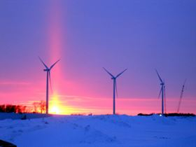 Alstom's ECO 86 wind turbines installed at Adams / Danielson wind farms in Minnesota, USA (copyright: Alstom)