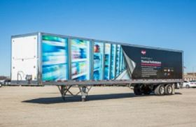 Wabash reportedly improved the trailer's overall thermal performance by up to 25%.