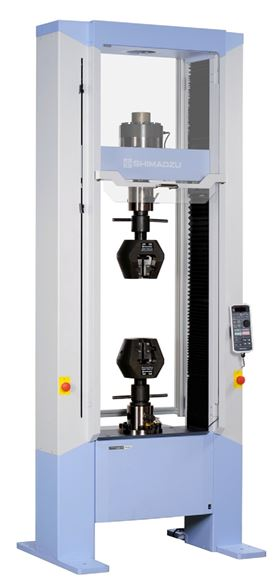 Tufnol Composites' new precision universal tester, Shimadzu's Autography AGS-X model, the latest addition to the company's testing facility.