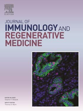 Journal of Immunology and Regenerative Medicine is now open for submissions