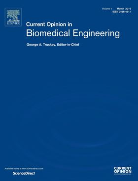Current Opinion in Biomedical Engineering publishes 1st volume
