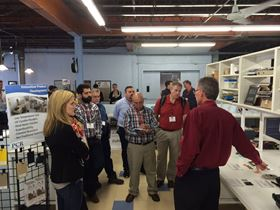Hands-on lab demos allow attendees a close up look at key technologies and processes.
