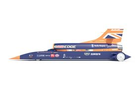 The Bloodhound is a supersonic car designed to break the world land speed record by reaching 1000 mph.