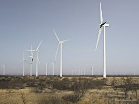LM Wind Power is seeing increasing business in the US. This wind farm is in Abilene, Texas, (Picture © LM Wind Power, www.lmwindpower.com.)