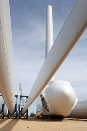 Owens Corning's Ultrablade fabrics are designed for the production of wind turbine blades.