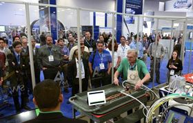Composites One will present more than 15 closed mold and other process demonstrations.