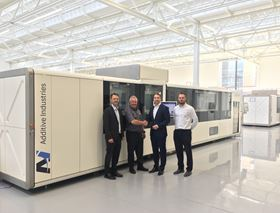 Additive Industries plans to increase its process and application development network with a center in the UK.