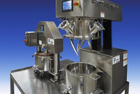 Charles Ross says that its double planetary mixer is now available in a 'super sanitary' turnkey configuration.