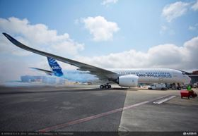 Top story last week: the A350 getting ready for its maiden flight.