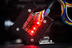 Researchers at Princeton University have made a new type of LED with crystalline substances known as perovskites. Photo: Sameer A. Khan/Fotobuddy.