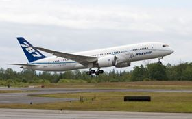 The first 787 Dreamliner with General Electric (GE) engines, the aircraft referred to as ZA005, completed its first flight on 16 June.