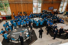 The facility, based in Reutte, Austria, has space for the training of up to 240 apprentices in six technical apprenticeships.