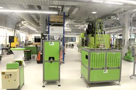 The ThermoPlastic Composites Application Center (TPAC) features new processing equipment.