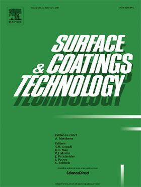Freely available articles online from Surface & Coatings Technology