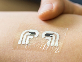 The wearable glucose sensor developed by Joseph Wang and colleagues (currently designed for daily application) Copyright © Joseph Wang 2018