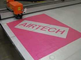 Airtech's new cutting machine.