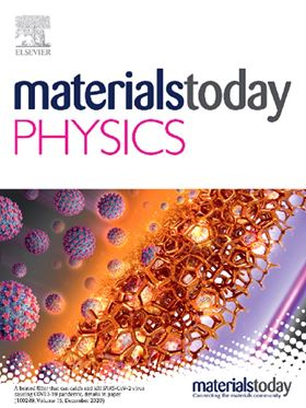 Materials Today Physics - Hot Papers