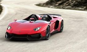 Top story: the Lamborghini Aventador J. The car sold quickly, for a reported sum of around 2.1 million euros.
