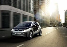 The BMW i3 (previously known as the Megacity Vehicle) features a passenger compartment made from carbon fibre reinforced plastic (CFRP).