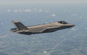 Hardide-A coating has been selected for use on components for the new F-35 Lightning II Joint Strike Fighter.