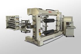 Roth Composite Machinery's Type 1 filament winding machine with modern control technology.