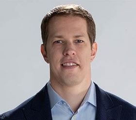Brad Keselowski, a NASCAR driver and owner/founder of Keselowski Advanced Manufacturing (KAM).