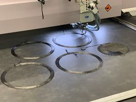 Carbon ThreeSixty has installed an in-house tailored fiber placement (TFP) cell.
