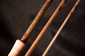 According to the company, the fly rods have the traditional feel of glass fiber with the fast recovery of graphite.