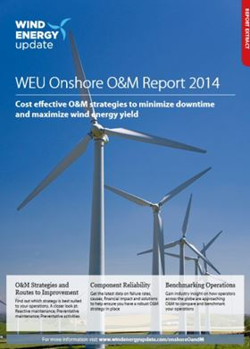 The report is published by Wind Energy Update.
