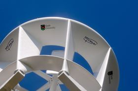 McCamley's vertical-axis wind turbine could be the answer for urban environments
