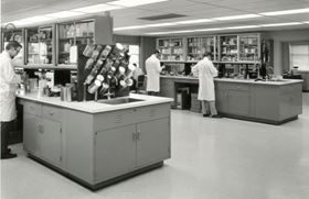 One of Chem-Trend's Research and Development Laboratories in the '70s.