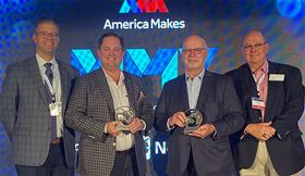 3D printing organization America Makes has presented its Distinguished Collaborator award to Ralph Resnick and Rob Gorham.