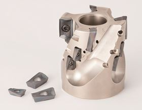 MECHT is suitable for applications in shoulder face milling, plunge cutting, slot milling and ramping.