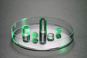 Different shaped examples of the novel hydrogel. Photo: Alain Herzog/EPFL.