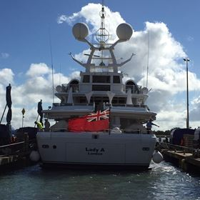 Magma Structures is providing structural design and engineering expertise for the Lady A motor yacht.