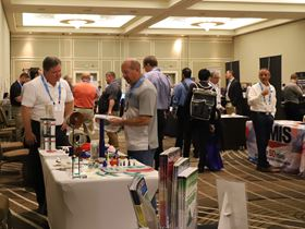 The PCI's Tabletop Exhibition offers the opportunity to meet with suppliers face-to-face.