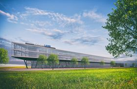 The €105 million facility will be opened in 2019 and will house around 500 employees in 40,000 m2.