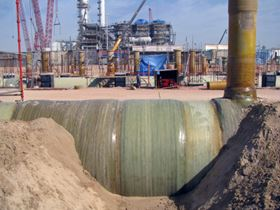 Abu Dhabi chemicals plant employs composite pipe - Materials Today