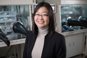 Ying Diao, an assistant professor of chemical and biomolecular engineering at the University of Illinois Beckman Institute for Advanced Science and Technology. Photo: L. Brian Stauffer, University of Illinois at Urbana-Champaign